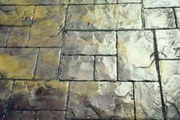 Baskı beton zemin