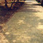 Rulo baskılı beton 3