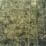 Rulo baskılı beton 7