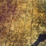 Rulo baskılı beton 8