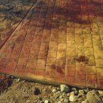 Rulo baskılı beton 9