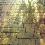 Rulo baskılı beton 10