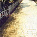 Rulo baskılı beton 11