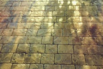 Rulo baskılı beton
